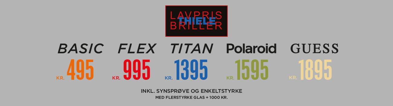 797104070835 Lavpris briller med Thiele service